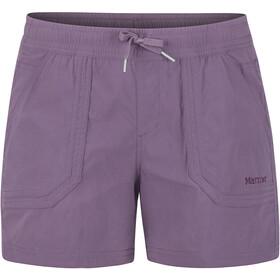 Marmot Adeline korte broek Dames, vintage violet